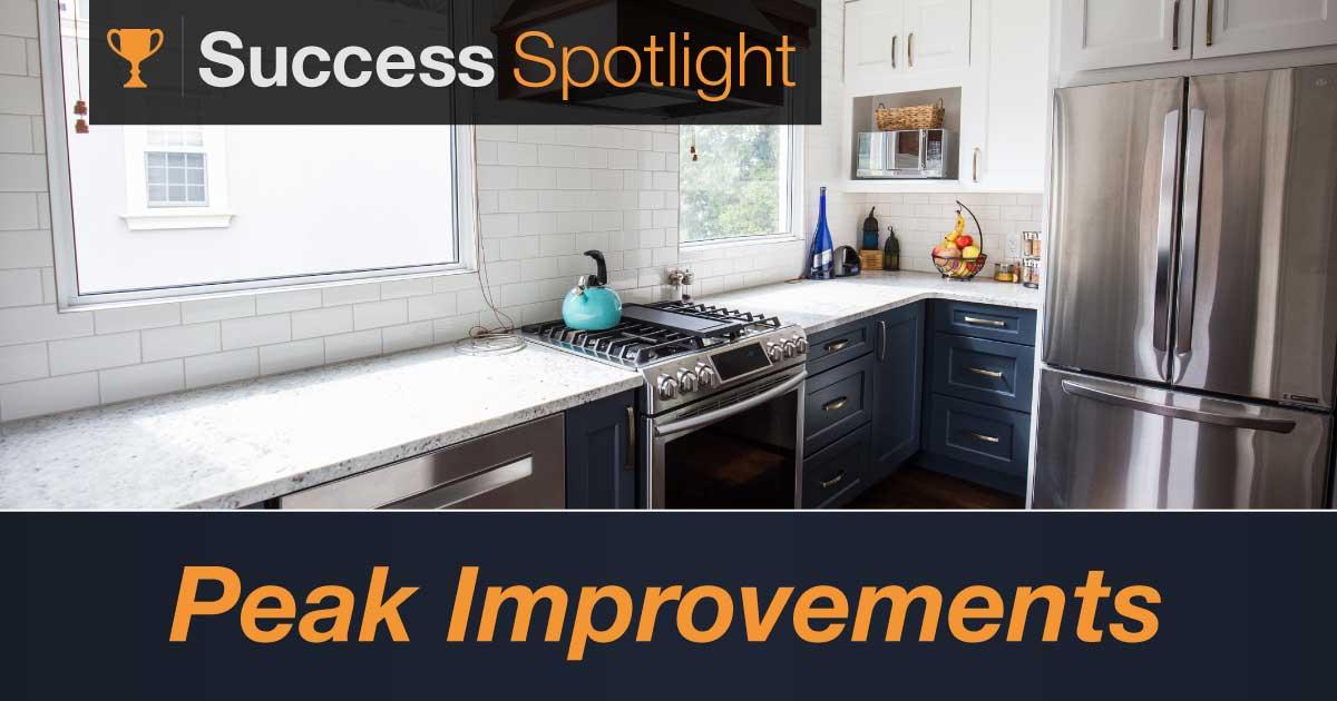 Success Spotlight: Peak Improvements