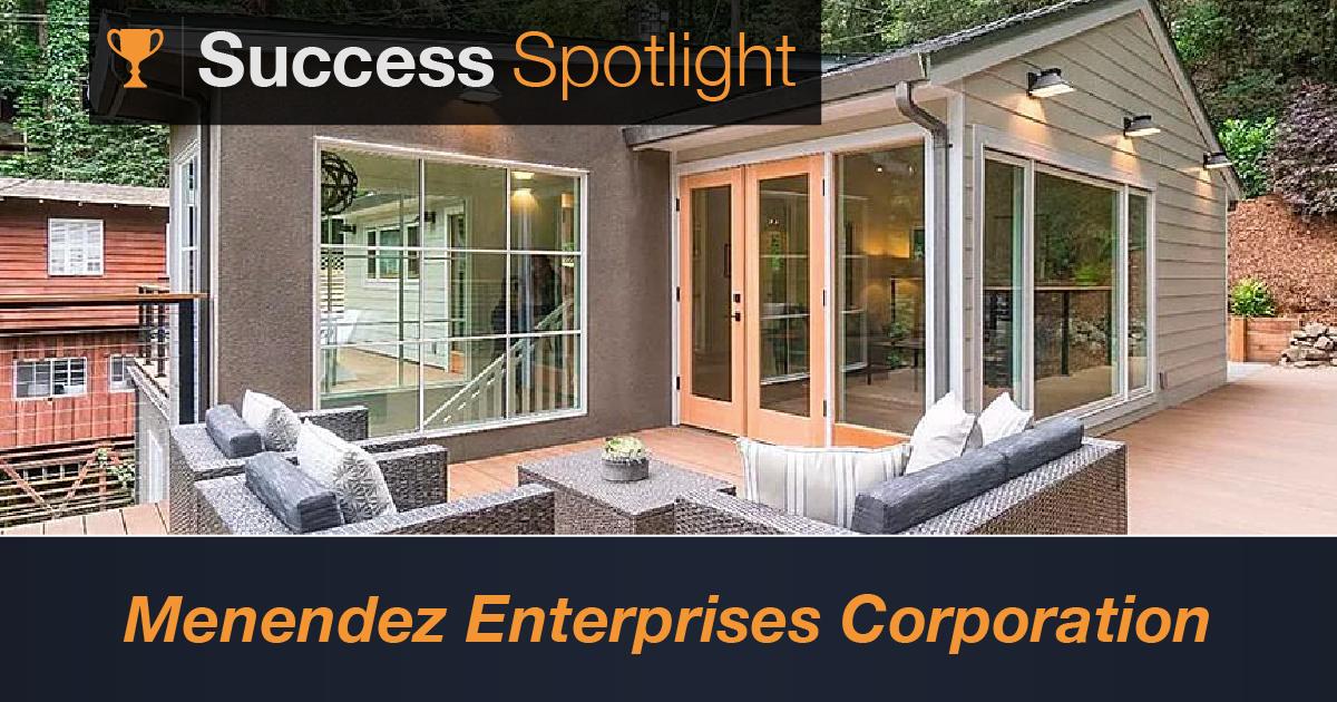 Success Spotlight: Menendez Enterprises Corporation