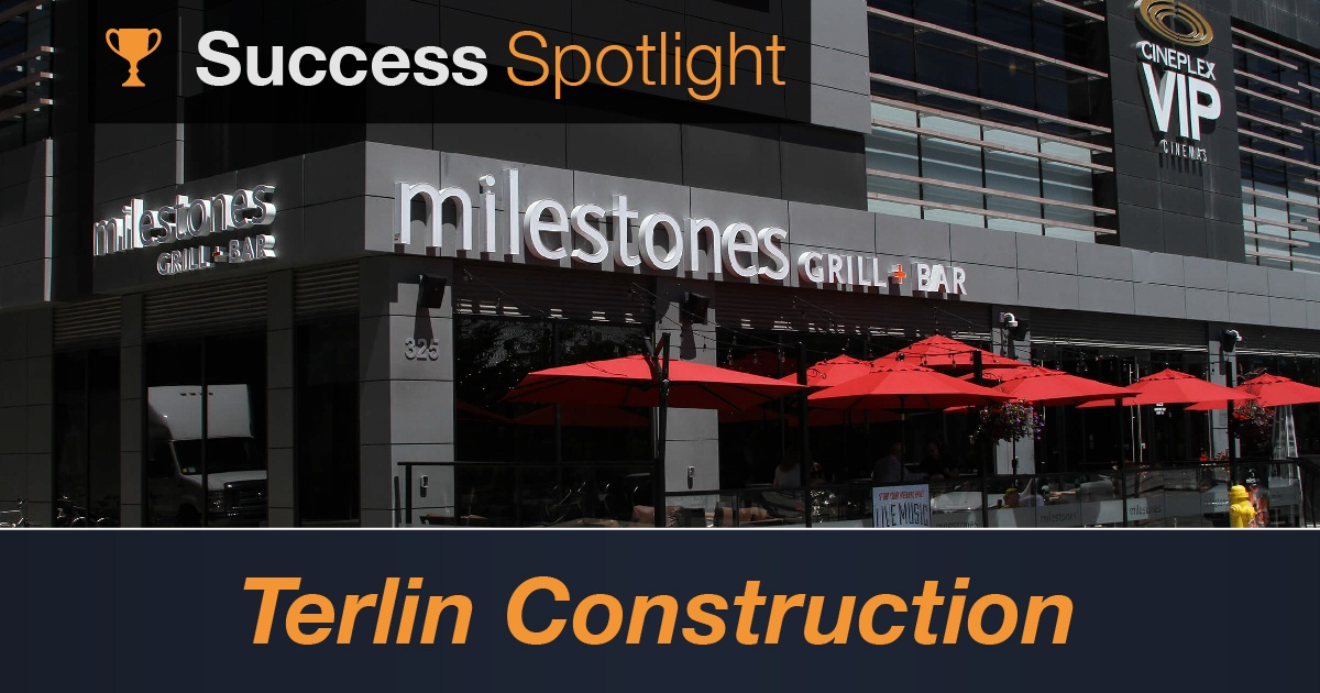 Success Spotlight: Terlin Construction