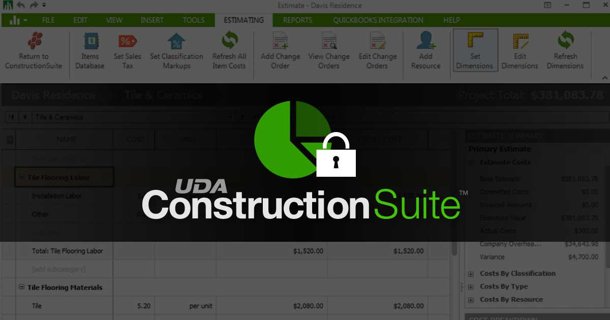ConstructionSuite Secret Hacks: Locking Estimates