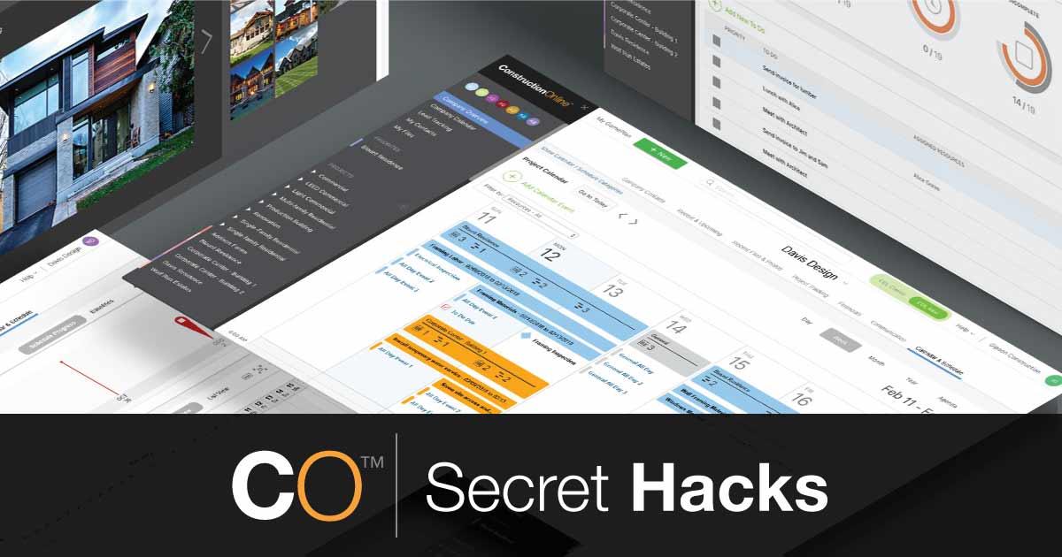 COL Secret Hacks: Custom Calendars