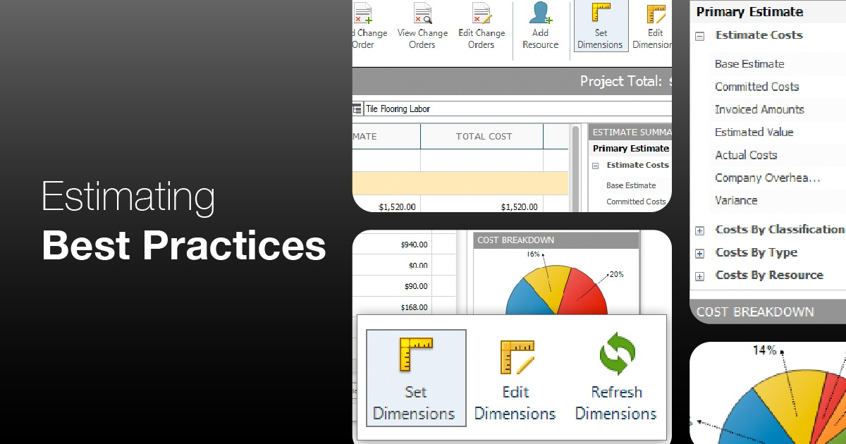 Best Practices for Getting Started with Construction Estimating Software
