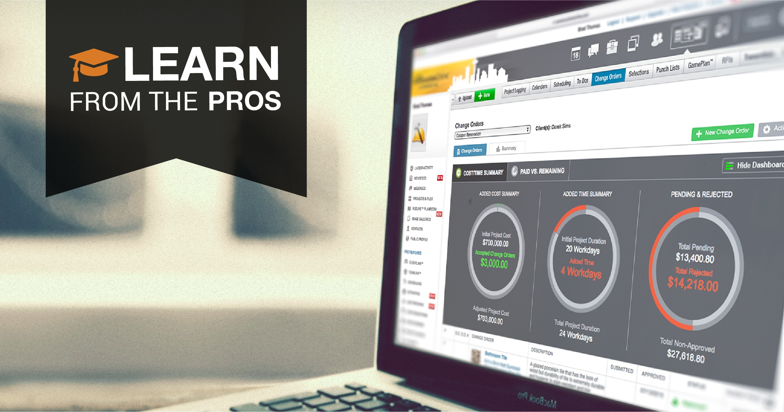 Learn From the Pros: ConstructionOnline Commercial