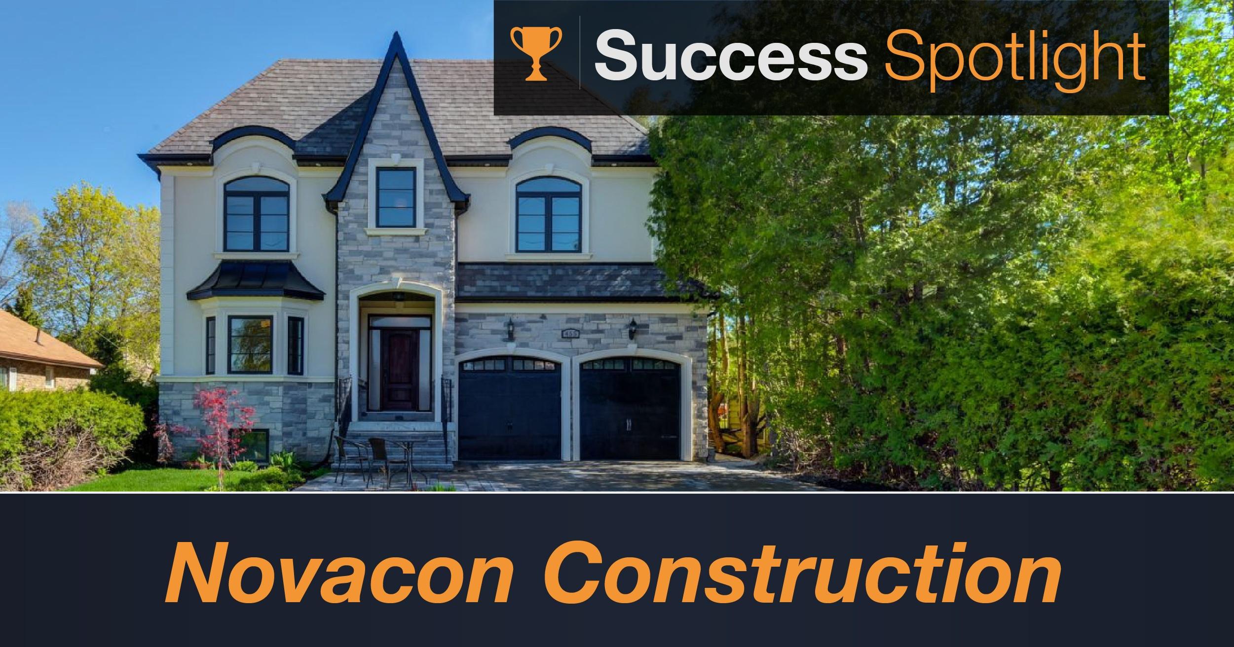 Success Spotlight: Novacon Construction