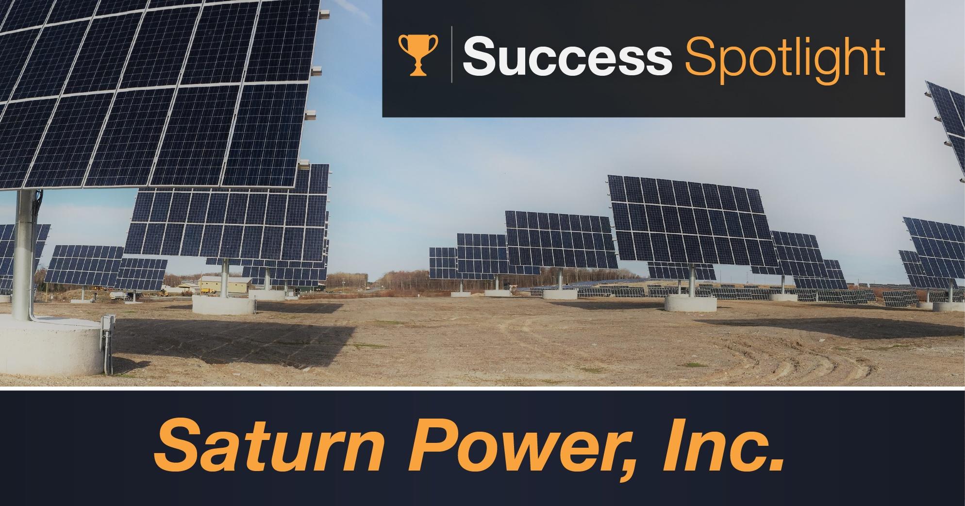 Success Spotlight: Saturn Power